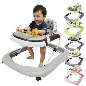 YOUPALA - TROTTEUR Trotteur bébé musical pliable réglable en hauteur