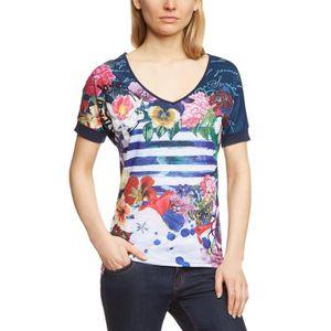 4acdca9d17274 Tee shirt desigual femme - Achat   Vente pas cher