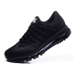 NIKE Air max 2016 Homme Basket Running Chaussures noir Taille 40-45 ... 59396d5f07a4