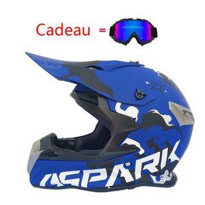 CASQUE MOTO SCOOTER Casque Moto Adulte Casque de Marque moto cross cou