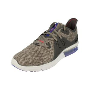 sports shoes 68287 7c6fe BASKET Nike Air Max Sequent 3 Hommes Running Trainers 921