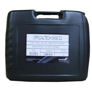 HUILE MOTEUR Bidon 20 litres d'huile 5w30 C2 Wolf Officialtech