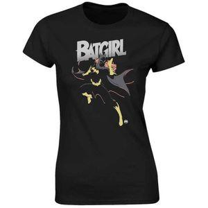 T-SHIRT T-shirt DC Comics Batgirl - Femme Noir