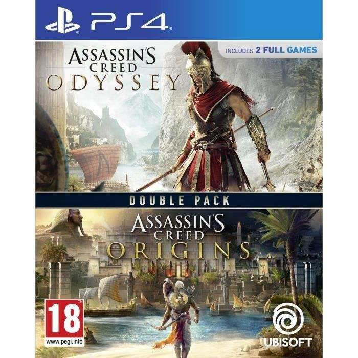 JEU PS4 NOUVEAUTÉ Compilation Assassin's Creed Origins + Assassin's