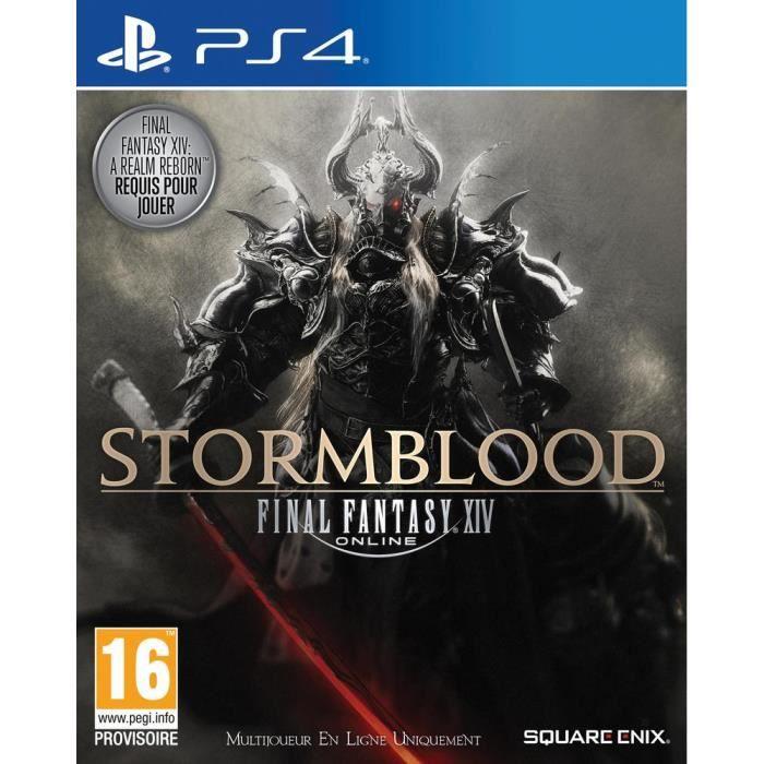 Final Fantasy XIV : Stormblood Jeu PS4