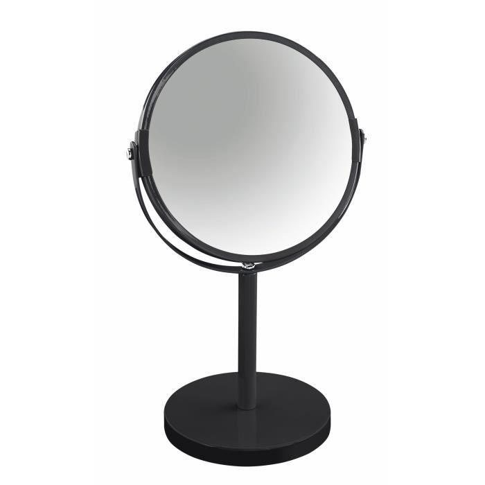 Miroir permanent Coloris NoirMIROIR