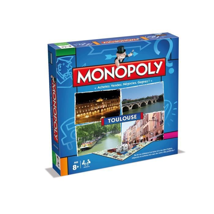 WINNING MOVES Monopoly Toulouse