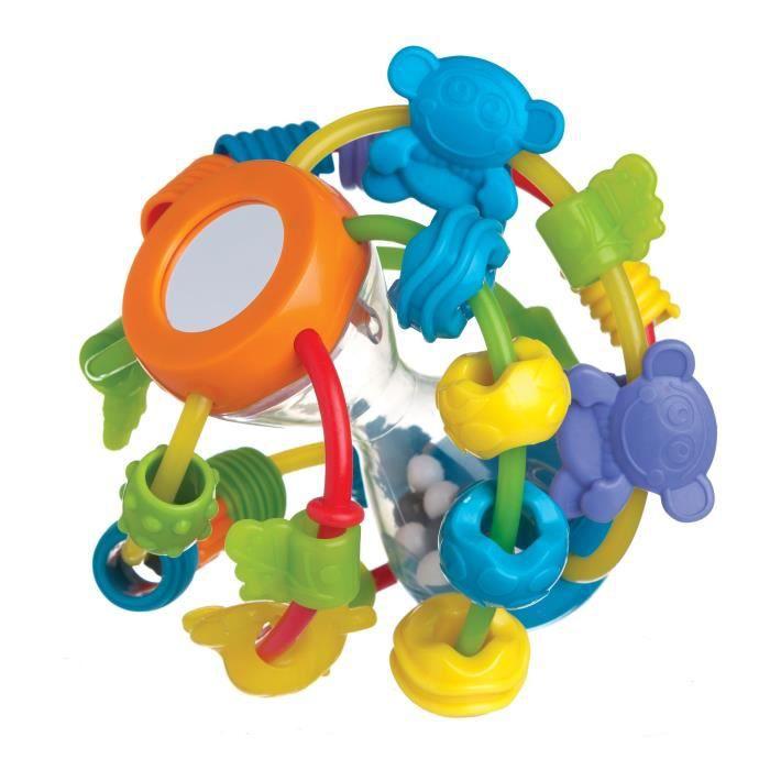 Anneaux multicolores souples - Miroir - GrelotsHOCHET
