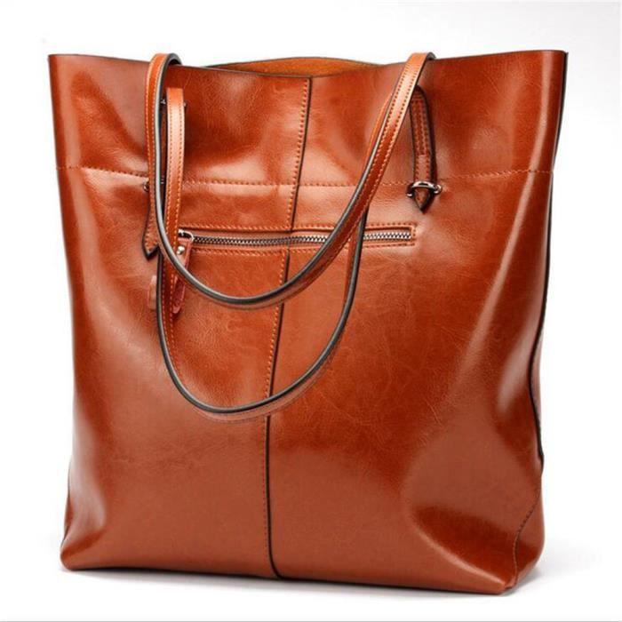 sac femme de marque Sacoche Femme Nouvelle mode sac a bandouliere femme marrron sac cabas femme de marque Sac De Luxe Les Plus Vendu