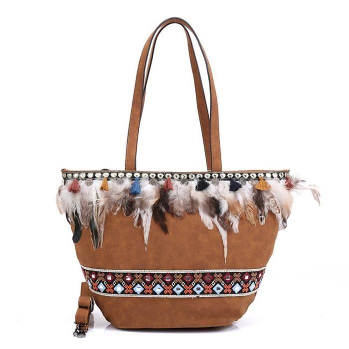 Sac à main et sacs à main des femmes de Bohême Sac fourre-tout dépaule RMK3Z