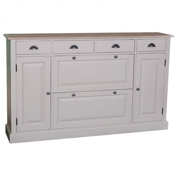 Casa Padrino Shabby Chic Cottage Style Sideboard Shoe Cupboard