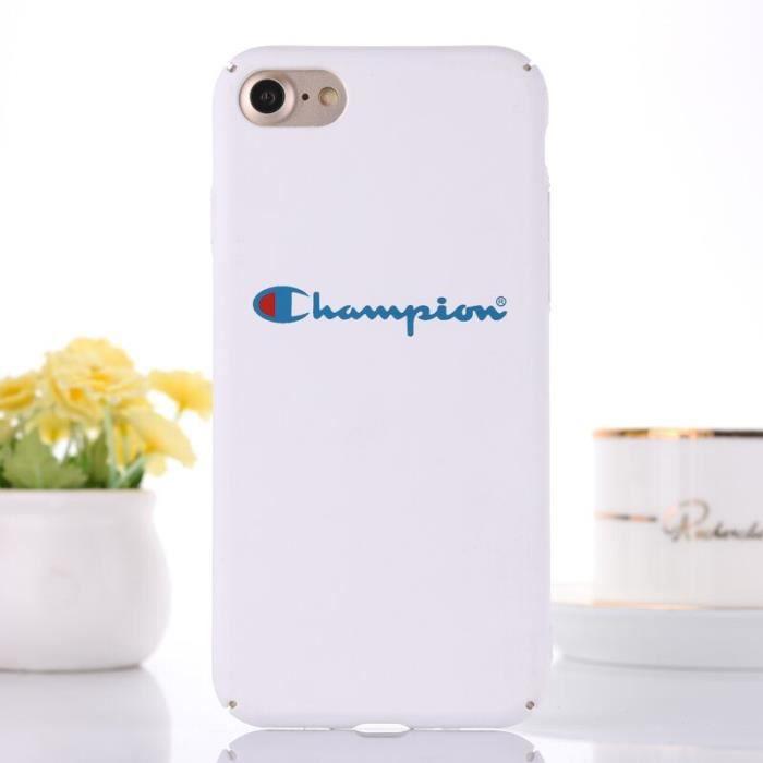 coque iphone 8 plus champion silicone