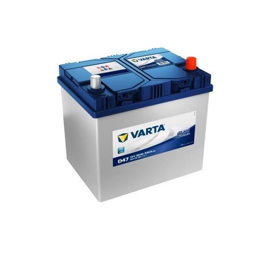 BATTERIE VÉHICULE VARTA Batterie Auto D47 (+ droite) 12V 60AH 540A