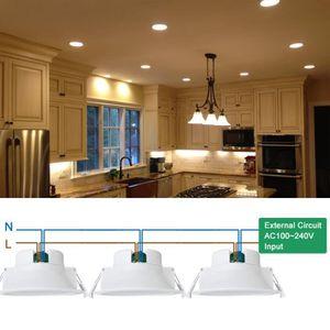 Led encastrable plafond achat vente led encastrable plafond pas cher soldes d s le 10 - Lampe encastrable plafond ...