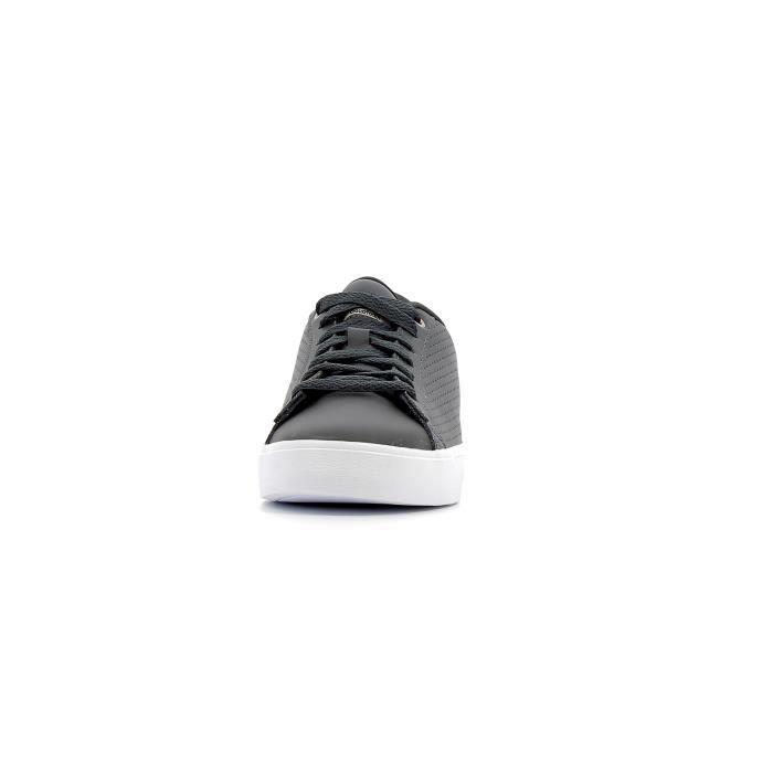 Baskets basses Adidas Cloudfoam Daily QT Clean W coloris Carbon - Carbon - Vapor Grey Bf93lW