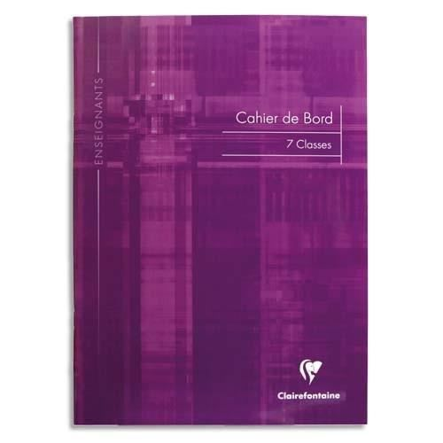 Cahier de bord Clairefontaine 48 pages