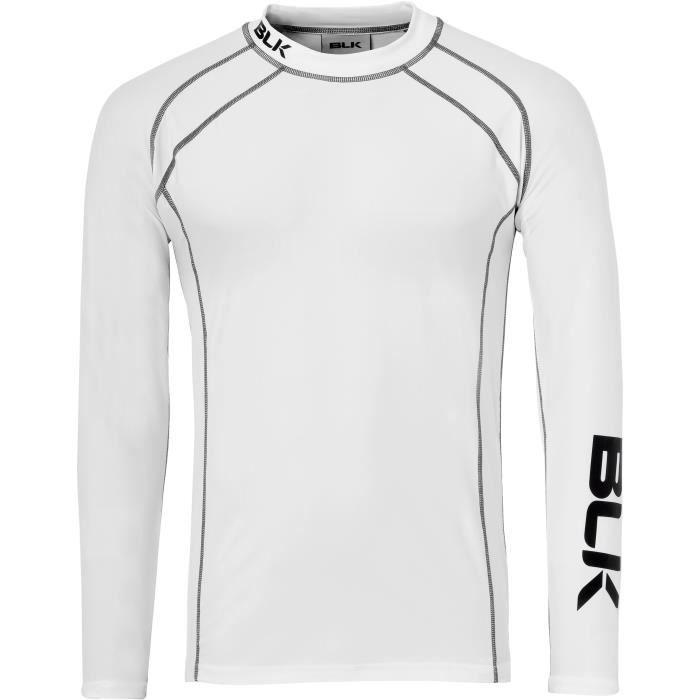 BLK Top Sous-vêtement technique Baselayer - Garçon - Blanc