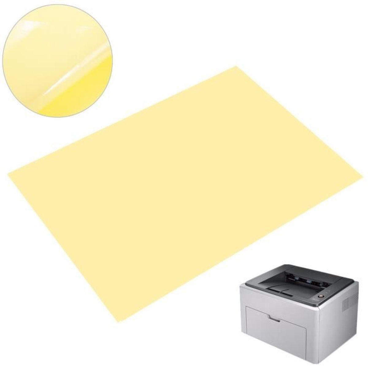 a1acaa45b9c32b PAPIER IMPRIMANTE Pr laser A4 Imprimante Papier autocollant Effacer