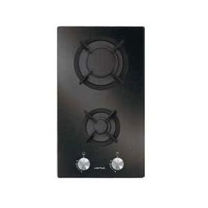 PLAQUE POSABLE Domino verre gaz 30cm 2 foyers - AV32HBK