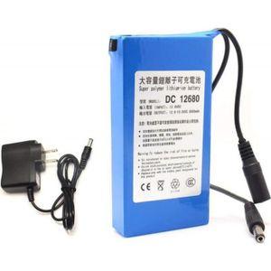 BATTERIE DOMOTIQUE Batterie rechargeable DC12680 6800mAh 12V pour les