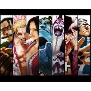 AFFICHE - POSTER Affiche manga one piece personnage (Dimensions : 3