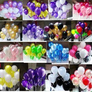 BALLON DÉCORATIF  f5429 50 ks, Velké latexové balonky na hélium, Vys