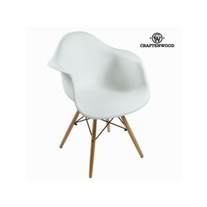 CHAISE Chaise abs blanche by Craften Wood