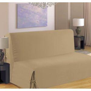 HOUSSE DE CANAPE Housse de canapé BZ 140x190 cm beige