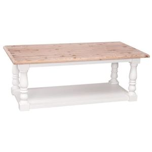 Table basse style campagne - Achat / Vente pas cher