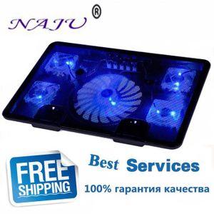 SUPPORT PC ET TABLETTE NA JU Marque 5 Ventilateur 2 USB Refroidisseur D'o