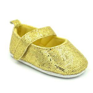 BOTTE Nouveau-né Toddler Baby Infants Filles Chaussures Mignon Paillettes Douces Anti-slip Chaussures@NoirHM BwLyKF