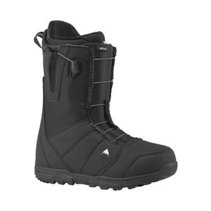 973a0842a37f0 CHAUSSURES SNOWBOARD Boots De Snowboard Burton Moto Black