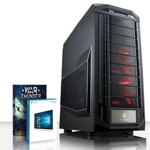 UNITÉ CENTRALE  VIBOX Submission 32 PC Gamer Ordinateur avec War T