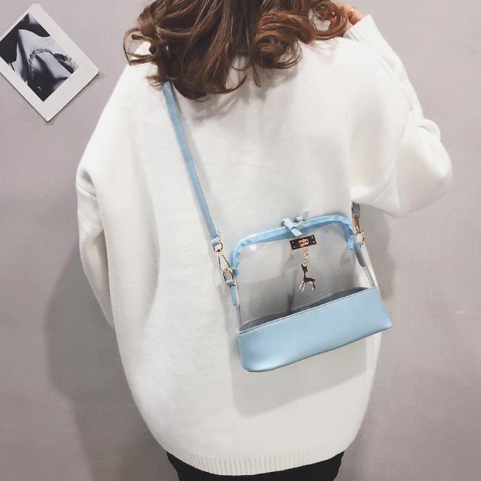 Bag Shell Fawn De Messenger Épaule Transparent Mode Femmes Pendentif Sac 9129 Bandoulière xXWwB8nqS4