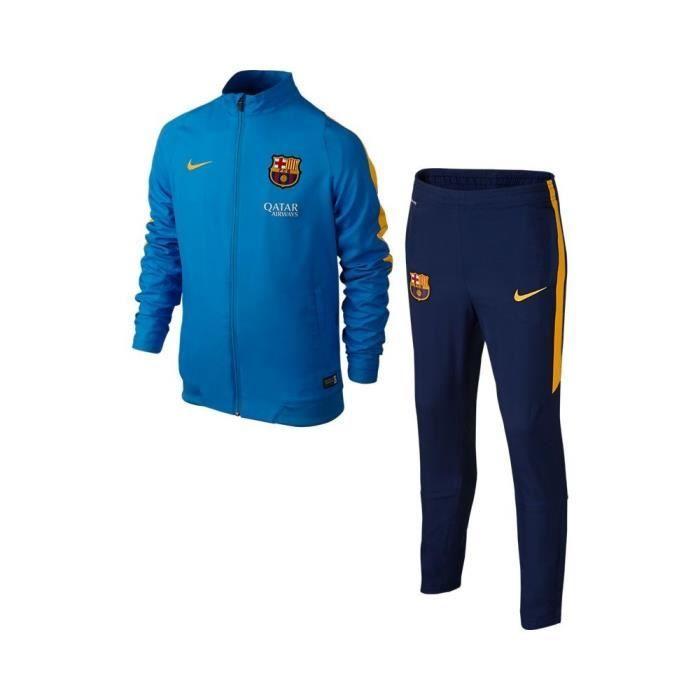 f9f44ec1a2 Ensemble de survêtement Nike Junior FC Barcelona Revolution Sideline Woven  - 686637-436