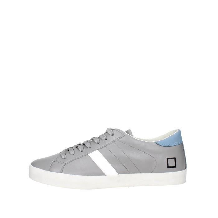 D.a.t.e. Sneakers Homme Gris, 45