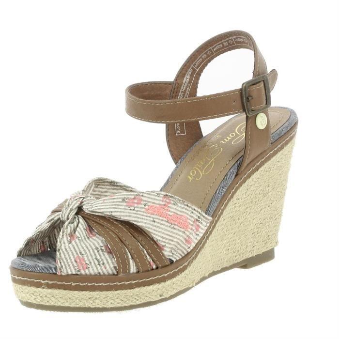 sandales/nu-pieds soft femme tom tailor 48908