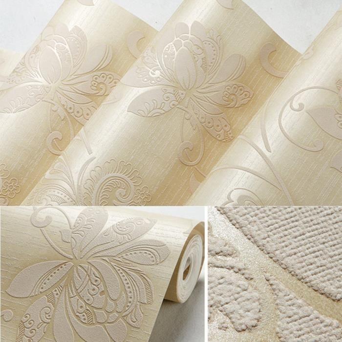 Papier Peint Magnifique Non Tisse Haute Qualite Parfait Pour Salon