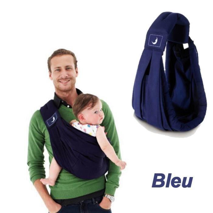 Sac à bébé- Porte Bébé Multifionction – hamac portable bleu - Achat ... b664a4616b0