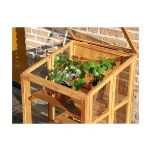 mini serre en bois achat vente mini serre en bois pas cher cdiscount. Black Bedroom Furniture Sets. Home Design Ideas
