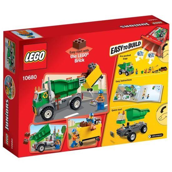 Camion Pièces Le Lego® Juniors Poubelle 10680 99 NwOk0nP8X