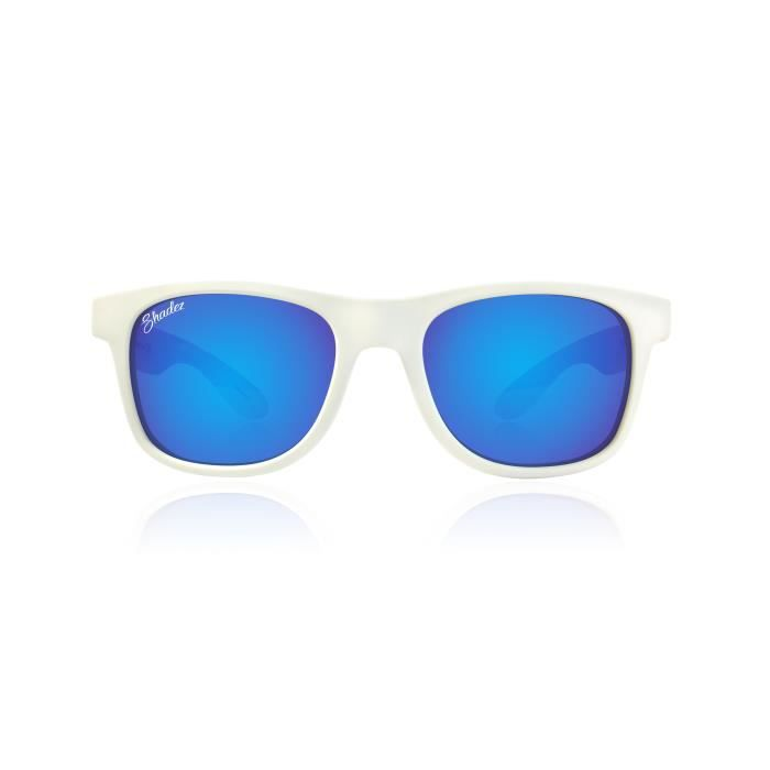 Shadez Lunettes de soleil Blanc-Bleu