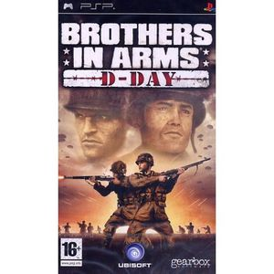 JEU PSP BROTHERS IN ARMS D-Day / PSP