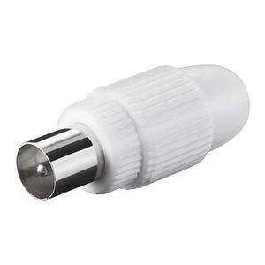 COUPLEUR D'ANTENNE Alpexe® Connecteur  coaxial 9,5 mm a visser - LOT