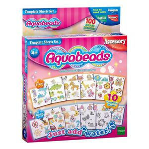 FIGURINE - PERSONNAGE Aquabeads Template Sheets Set