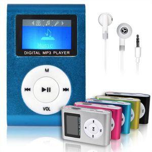 ENREGISTREUR 8GB Mini Stand Métal avec Écran MP4 Lecteur FM Rad