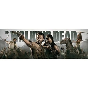 AFFICHE - POSTER Poster The Walking Dead + 1 Powerstrips©, tesa adh