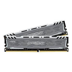 MÉMOIRE RAM Ballistix Sport LT DDR4 16 Go: 2 x 8 Go DIMM 288 b