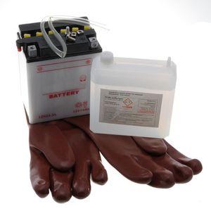 PIÈCE OUTIL DE JARDIN Batterie 12N14-3 A pour tondeuse autoportée, moto,