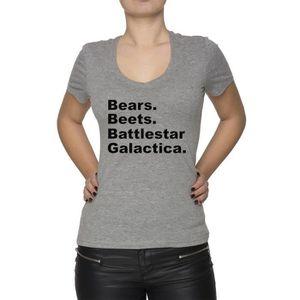 Galactica Vente T Shirt Femme Achat Battlestar OXZkuTPi